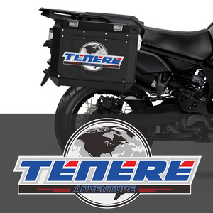 For YAMAHA ADVENTURE TOURING TENERE 1200 XT1200Z SUPER Motorcycle Sticker Tail Top Side Panniers Luggage Aluminium Box Case(China)