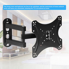 2020 New TV Stand Wall Mount 14-42 Inch Universal Bracket Monitor Support Retractable droppshing(China)