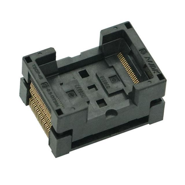 Tsop 48 tsop48 soquete para programador nand flash ic novo tsop 48 chip tomada de teste ic tomadas elétricas