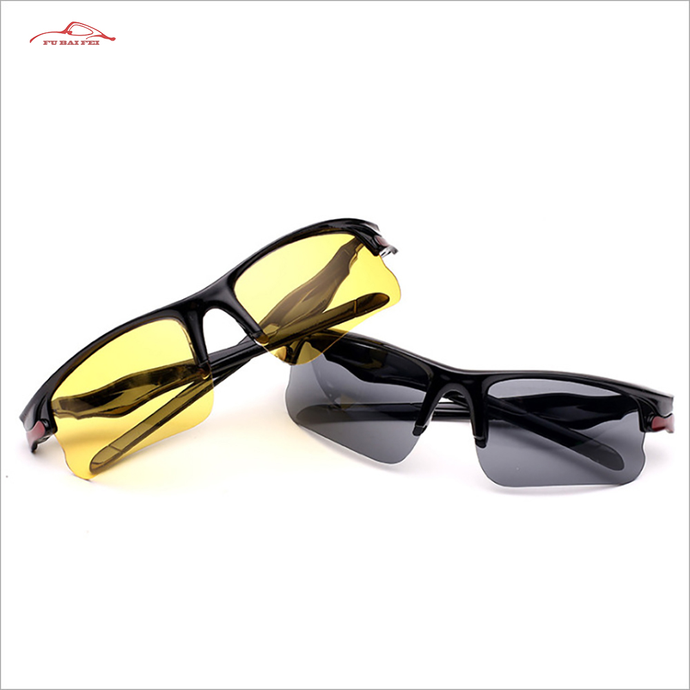 Car Night Vision Glasses Anti Glare Night-Vision Driving Glasses Protective Gears Driver Goggles UV Protection Sunglasses