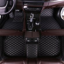 цена на Custom Car Floor Mats for Volkswagen Golf Travel Version 2008 2009 2010 2011 2012 2013 2014 2015 2016 2017 2018 2019 Eco Leather