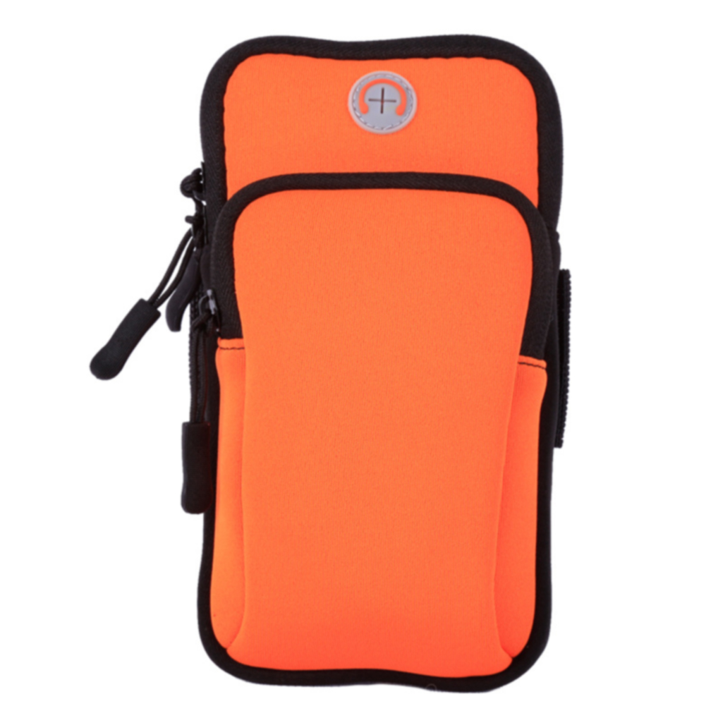 Sport Mobile Phone Holder Pouch Solid Jogging Gym Armband Outdoor Bag Wear Resistance Organizer Waterproof Running Daily