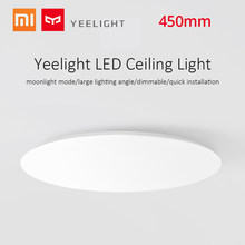 Yeelight 450mm LED Ceiling Light Dimmable Ceiling Lighting Intelligent WiFi/BT Control ceiling lamp for xiaomi kitchen fixture(China)