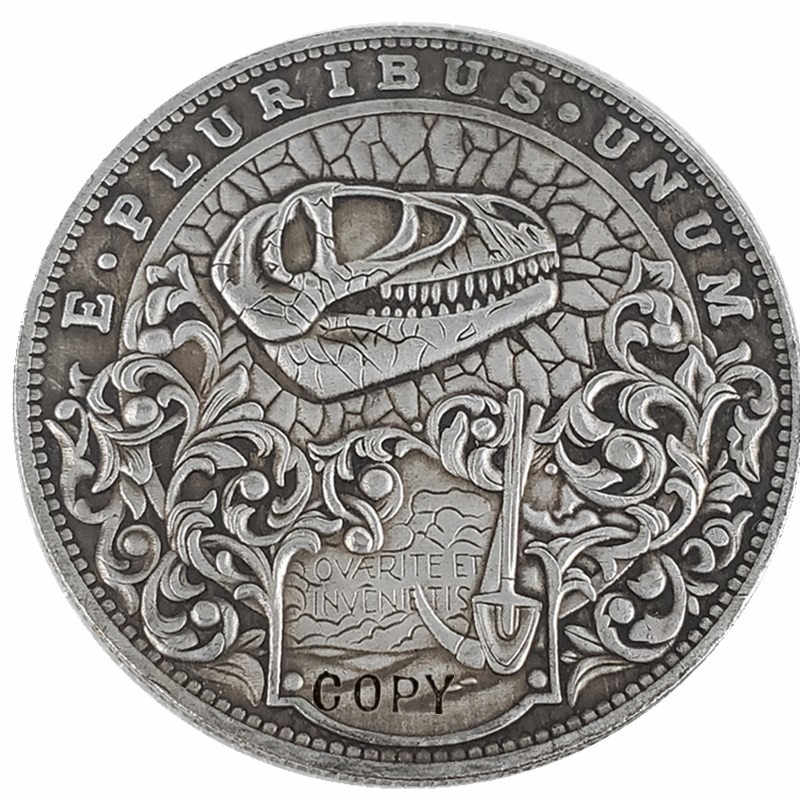Type # 34_Hobo Nikkel Coin Morgan Dollar Kopie Munt