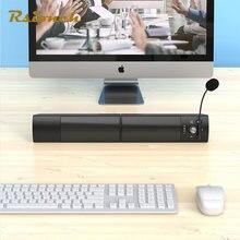 Rsionch проводной и Беспроводной компьютера звуковая панель