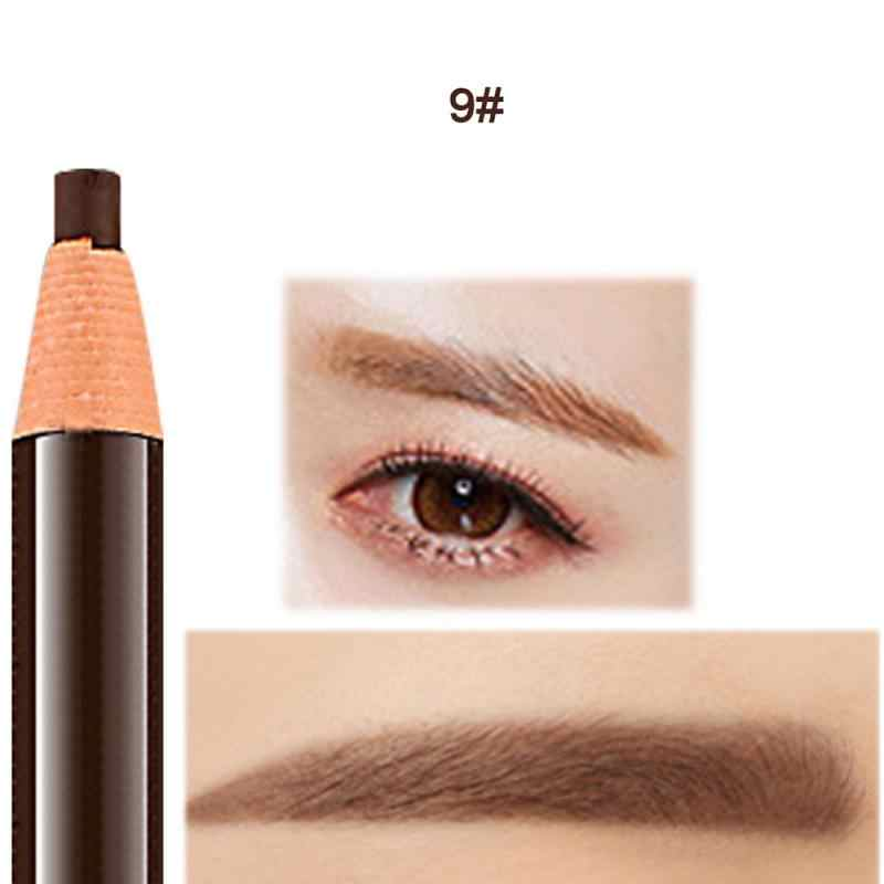 Eyebrow ปากกาเคล็ดลับส้อม Eyebrow TATTOO ง่ายสี Double-end Eyebrow Pencil Liquid Eyebrow Enhancer สีย้อมปากกา