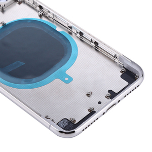 Image 3 - 10Pcs Replacement For iphone 8 Plus X XR XS MAX 8G 8P Back Housing cover Battery glass Rear Door Chassis Frame Parts