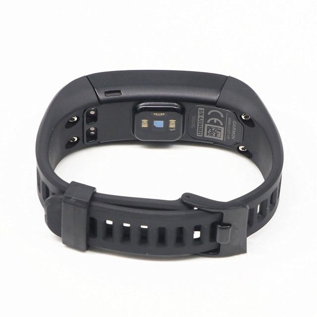 Фото умные часы браслет garmin vivosmart hr с пульсометром спортивные