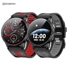 SENBONO reloj deportivo inteligente para hombre y mujer, nuevo reloj inteligente con control del ritmo cardíaco, para Android IOS, 2020