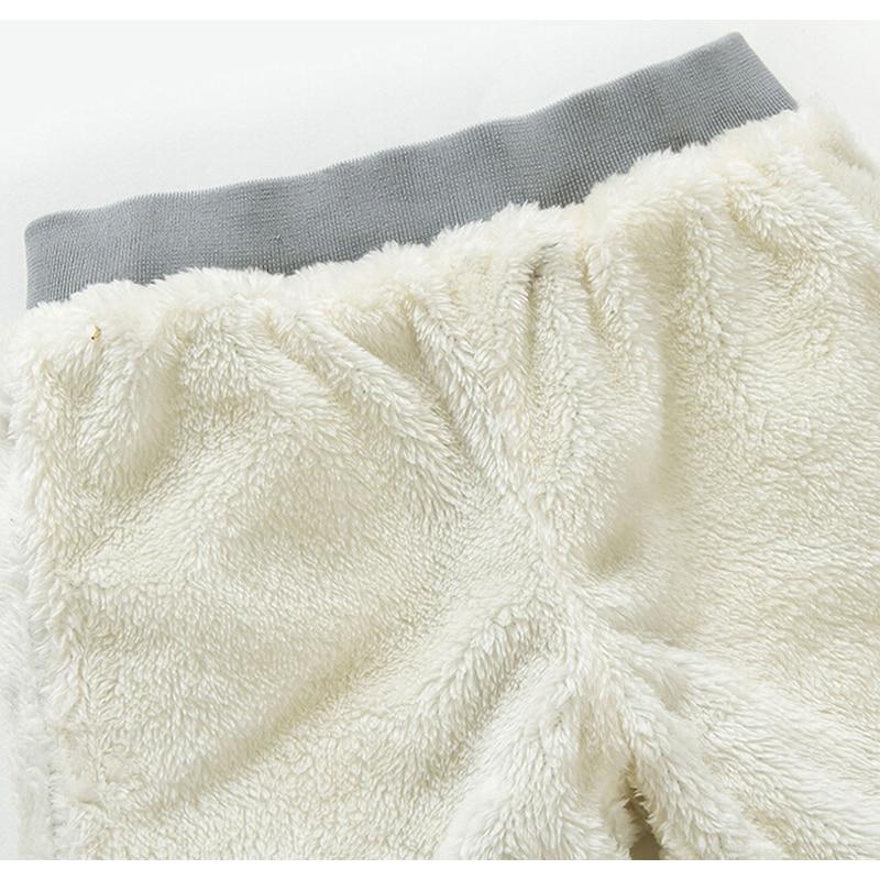 2021 High Quality Thicken Winter Warm Cashmere Jeans Children Pants Boys Pants Jean Children Kids Vans Jeans Baby Boys Clothing 6