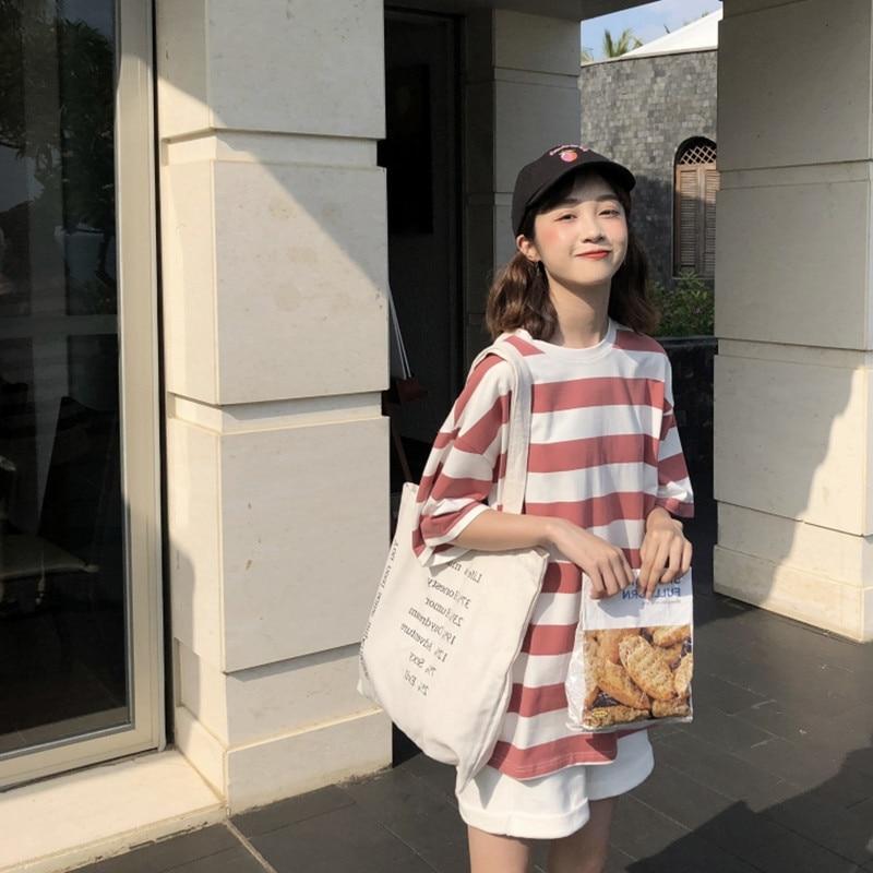Harajuku pasiasta koszula Streetwear kobiety ubrania 2020 koreański styl z długim rękawem Vogue Camisa Mujer spadek koszulkę Femme Plus rozmiar 6