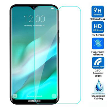 Перейти на Алиэкспресс и купить Закаленное стекло Для Doogee X90 X90L X60 X60L X100 X11 Y7 S80 BL5000 Lite 9H 2.5D Защитная пленка для ЖК-экрана Защитная крышка