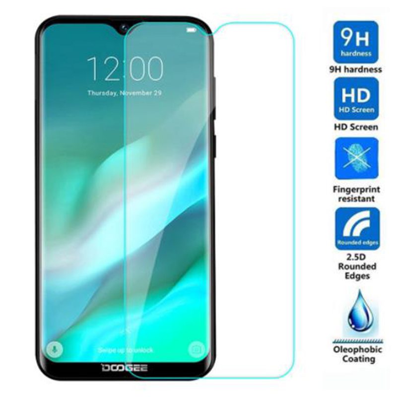 Tempered Glass For Doogee X90 X90L X60 X60L X100 X11 Y7 S80 BL5000 Lite  9H 2.5D Protective Film LCD Screen Protector Cover