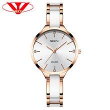 NIBOSI Vrouwen Horloges Armband Horloge Dames Polshorloge Vrouwen Waterdichte Fashion Casual Crystal Dial Rose Gold Relojes Para Mujer