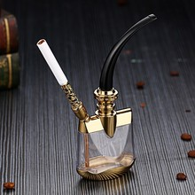 Arab Cleanable Filter Cigarette Holder Hookah   Smoking Pipe Accessories    Metal  Dual-use Smoking   Accessories Pipe
