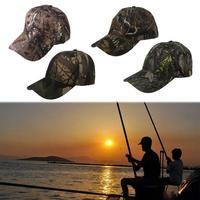 Camuflaje sombrero de pesca al aire libre deportes ciclismo senderismo Cap gorra de béisbol sombrilla de abordar caza escalada Accesorios