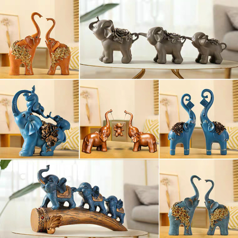 Best Discount 3a91 Elephant Decoration Living Room Morden Home