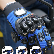 Motorcycle-Gloves Guantes Protective Gears Racing Breathable Outdoor Full-Finger Luvas