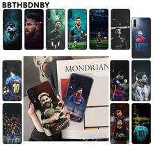 For Samsung Note9 case MESSI Phone Case Bumper for Samsung Note 3 4 5 7 8 9 10 pro A7 2018 A10 A40 A50 A70 J7 2018(China)