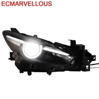Lamp Daytime Running Automovil Parts Accessory Led Drl Assessoires Headlights Car Lights Assembly 14 15 16 17 FOR Mazda 3