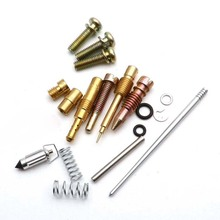 Carburetor Repair Kit Nickel-Plated Nozzle For 125CC Motorcycle ATV CG 125 PZ26 Easy installation and safety products carburetor repair kit for tillotson rk 114hl hl 109 112 125 132 155 158