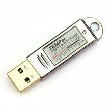 Kontrola czujnika USB Alarm rejestrator danych Tester termometr do pomiaru temperatury