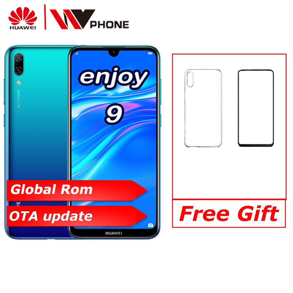 global rom Huawei Enjoy 9 Y7 2019 6.26 inch 1520*720P mobile phone Snapdragon 450 Octa core Dual Rear AI Camera <font><b>4000</b></font> <font><b>mAh</b></font> image