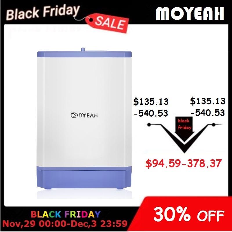 MOYEAH Travel Mini Oxygen Concentrator Generator Portable Oxygenic Generator Machine Air Purifier 3.5L/Min 6000mAh Battery