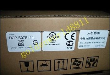 DHL/EMS NEW Delta HMI DOP-B07S411 7 inch good in condition for industry use  -A1