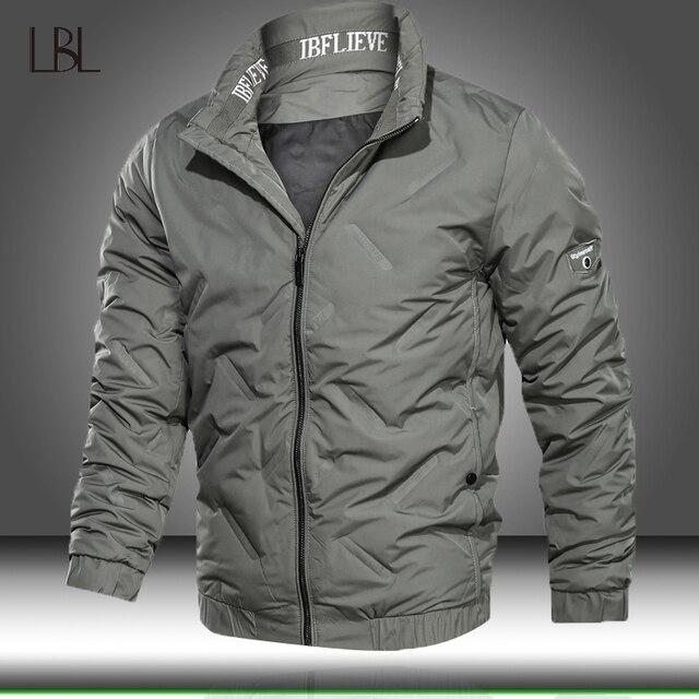 Militär Jacke Männer Taktische Bomber Jacken Casual Outwear Mens 2020 Neue Herbst Winter Baseball Mäntel Männlichen Outdoor Windjacke