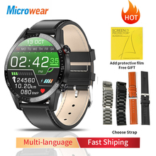 2020 nowy inteligentny zegarek Microwear L13 dla mężczyzn IP68 wodoodporny Bluetooth ciśnienie krwi tętno fitness sportowy smartwatch tanie tanio CN (pochodzenie) Android OS Na nadgarstku Wszystko kompatybilny 128 MB Passometer Fitness tracker Uśpienia tracker