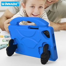 цена на For Samsung Galaxy Tab A 8.0 2019 SM-T290 SM-T295 Tablet case Non-toxic EVA Foam Shockproof Stand tablet cover for kids