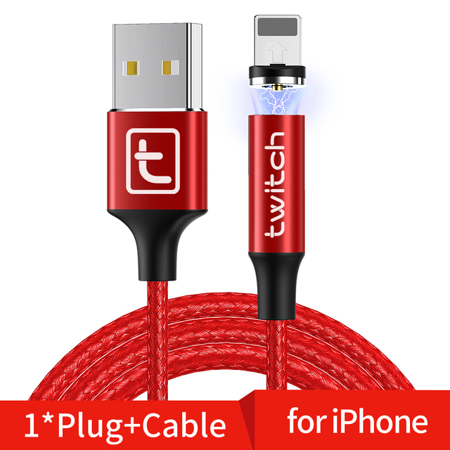 Type C Cable Red