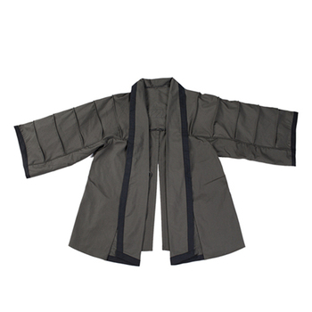 2020 New Release BACRAFT Outdoor Tactical Hunting Coat Training Cloak Combat Haori Jacket for Airsoft- Smoke Green 3