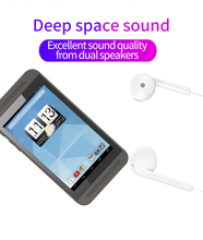 4.3Inch Mini Mp3 Speler Multi Touch Capacitieve Scherm Dual Core 512 Ram + 8G Rom Andorid 4.4 wifi Dual Camera MP3 Ondersteuning Tf kaart