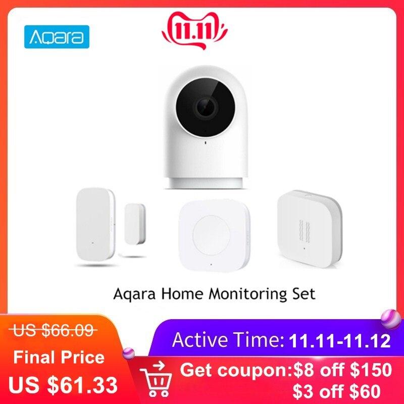Aqara Home Monitoring Set G2 1080P Camera Window Door / Vibration Sensor Smart Wireless Switch Home Application Remote Control