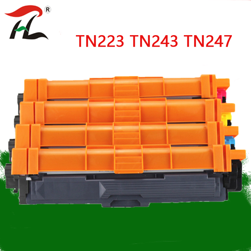 Compatible for Brother Toner Cartridge TN243  TN247 for HL-L3210W HL-L3230CDW HL-L3270CDW 3210 3230 3270 3517 3550 3710  printer