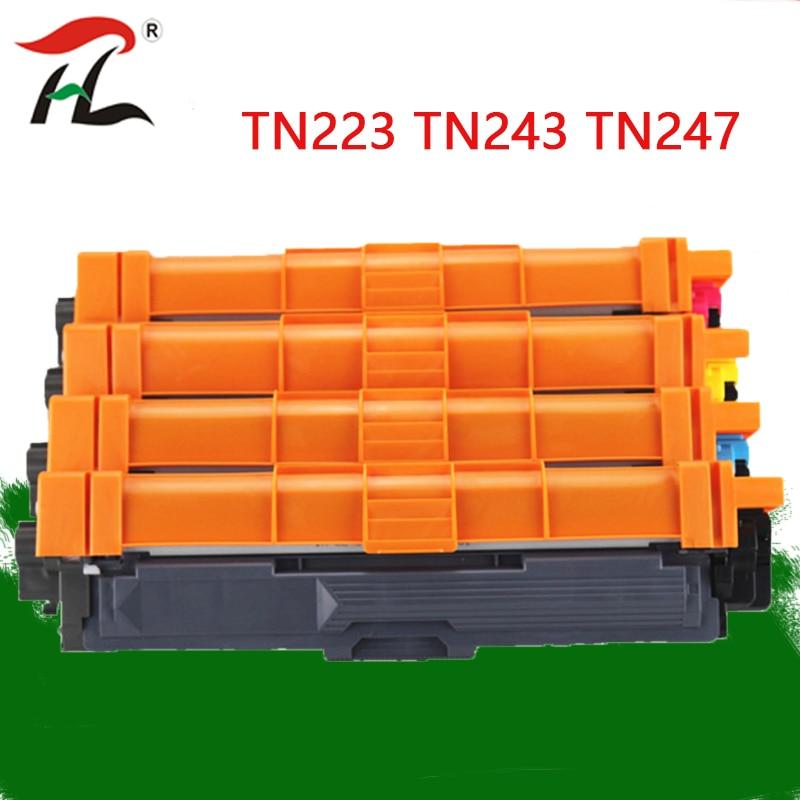 Compatible For Brother Toner Cartridge TN243  TN247 For HL-L3210W HL-L3230CDW HL-L3270CDW 3210 3230 3270 3517 3550 3710  Printer