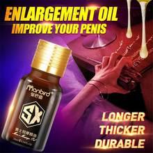5 sztuk powiększ powiększenie penisa wzrost oleju Anal smarowanie powiększenie kutasa lubrykant do seksu intymne towary dla dorosłych
