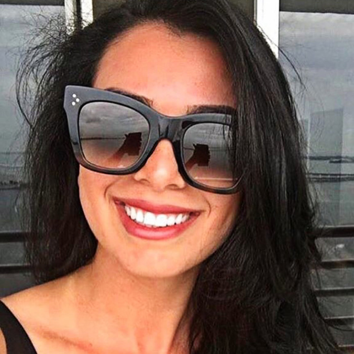 2019 Oculos De Sol Sexy Rectangle Sunglasses Women Brand Designer Retro Fashion Cat Eye Sun Glasses Female Eyewear UV400 in Women 39 s Sunglasses from Apparel Accessories