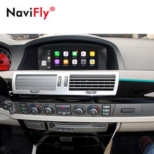 NaviFly – autoradio Android 10.0, DVD, Navigation GPS, DSP, 4G LTE, système CCC MASK, Carplay, pour voiture BMW série 7, E65, E66 (2001 ~ 2008)