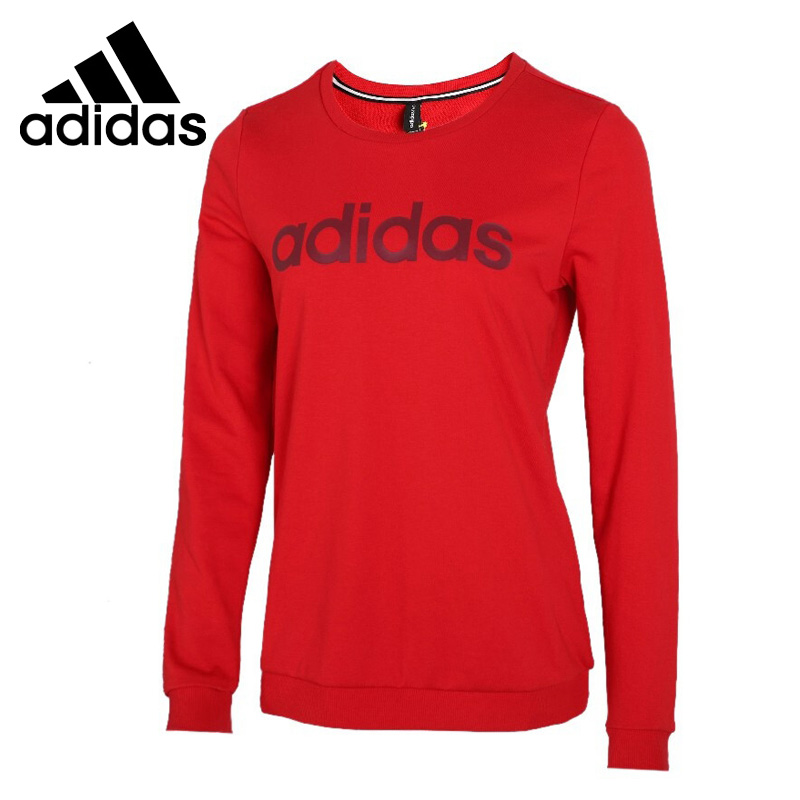 Original New Arrival  Adidas NEO W ESNTL LG SWT Women's  Pullover Jerseys Sportswear
