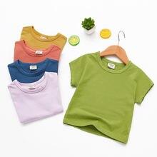 Новинка лета 2020 рубашки для маленьких девочек хлопковая модная