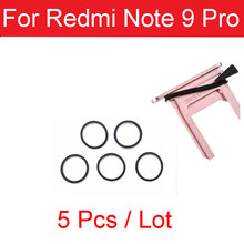 5PCS SIM Card Tray Waterproof Rubber Seal Ring Gasket For Xiaomi Redmi Note 9 Pro RedRice Note 9 Pro Circle Holder Repair Parts(China)