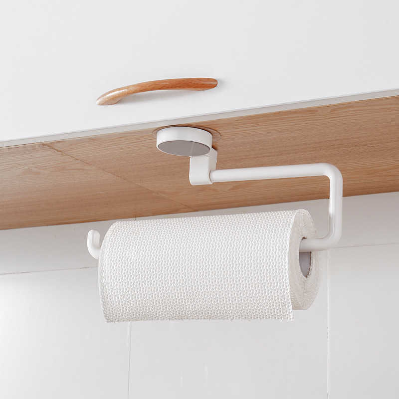 Держатель кухонной бумаги настенная полка с держателем для рулона бумаги Ванная комната вешалка для полотенец кухонная Полка для полотенец инструменты для украшения