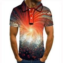 Рубашка поло Мужская дышащая брендовая Классическая с объемным