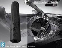 Odbiornik Audio Bluetooth 4.2 zestaw samochodowy 3.5mm Jack AUX muzyka Bluetooth zestaw głośnomówiący odbiornik samochodowy