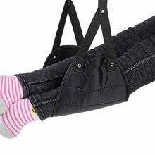 Удобная вешалка для путешествий самолет подставка для ног гамак Сделано с премиум пены памяти ног
