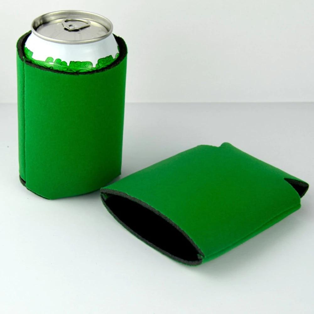 10 PCS Neoprene Beer Can Cooler Drink Bottle Holder Sleeve Insulator Covers