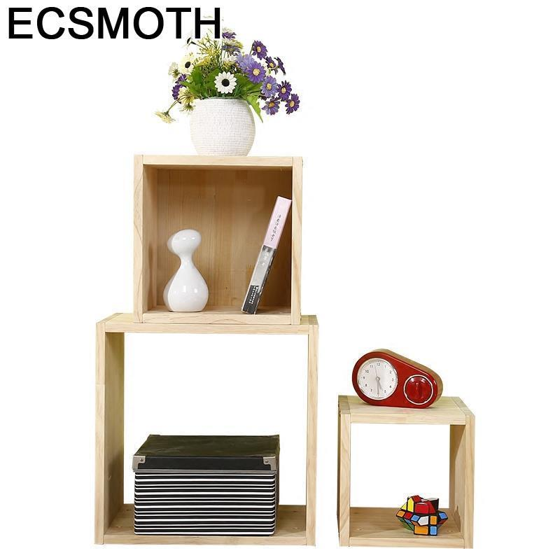 Mobili Per La Casa Display Meuble Rangement Boekenkast Dekoration Shabby Chic Wood Furniture Retro Decoration Book Shelf Case